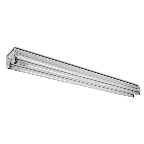 2 Light Fluorescent Strip Light Fixture