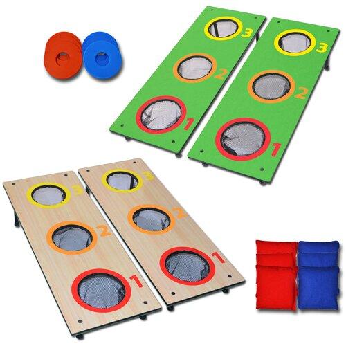 3 Hole Washer Toss / CornHole Game