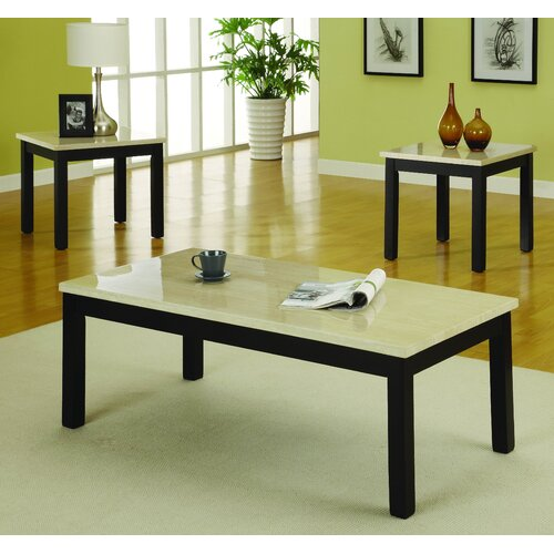 Woodbridge Home Designs Archstone 3 Piece Coffee Table Set