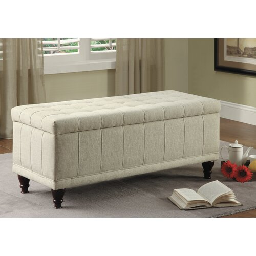 home designs afton fabric bedroom storage ottoman reviews wayfair
