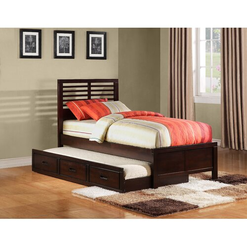 Woodbridge Home Designs Paula II Captain's Bed with Trundle