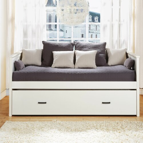 Woodbridge Home Designs Clover Panel Daybed With Trundle