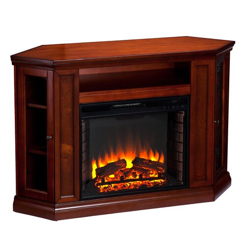 "Woodbridge Home Designs 48"" TV Stand with Electric Fireplace"