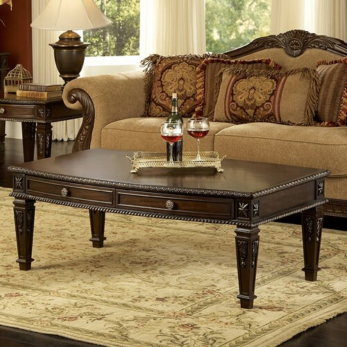 Palace coffee table wayfair - Woodbridge home designs avalon coffee table ...