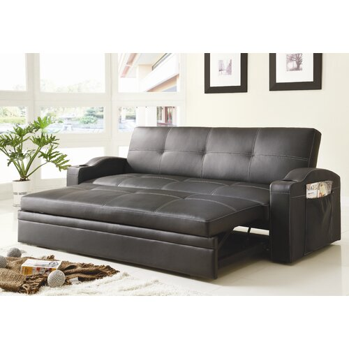 Woodbridge Home Designs Novak Convertible Sofa