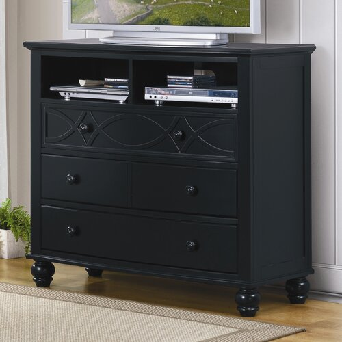 Sanibel 4 Drawer Media Dresser