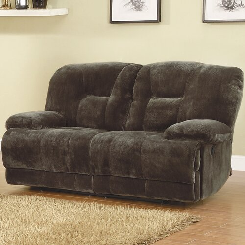 Woodbridge Home Designs Geoffrey Reclining Loveseat