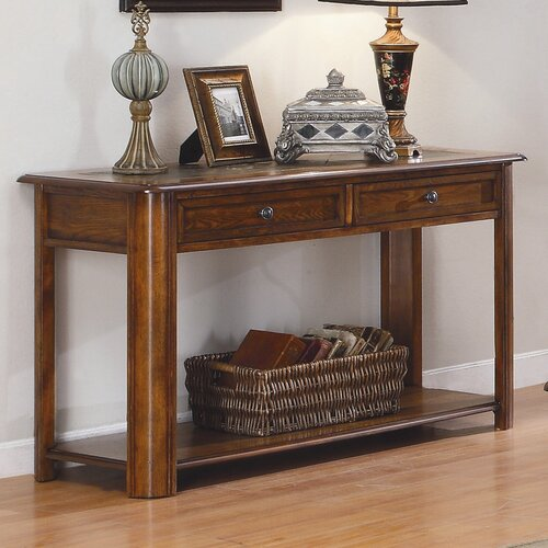 Woodbridge Home Designs Mcmillen Slate Console Table