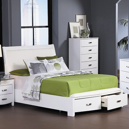 Woodbridge Home Designs Lyric Storage Panel Bed