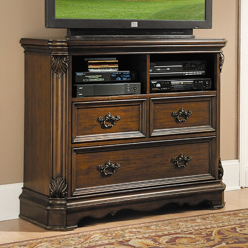 Woodbridge Home Designs Montrose 3 Drawer Media Chest