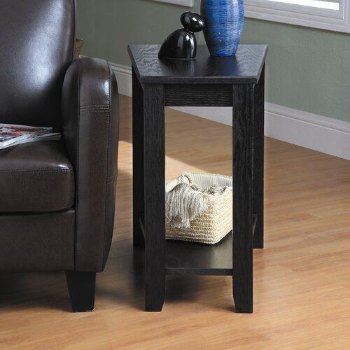 Woodbridge Home Designs Elwell Wedge Chairside Table