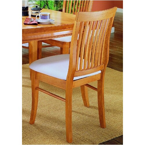 Woodbridge Home Designs 763 Series Slat Back Side Chair