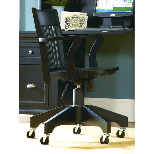 Woodbridge Home Designs High Back Office Chair With Arms Reviews Wayfair