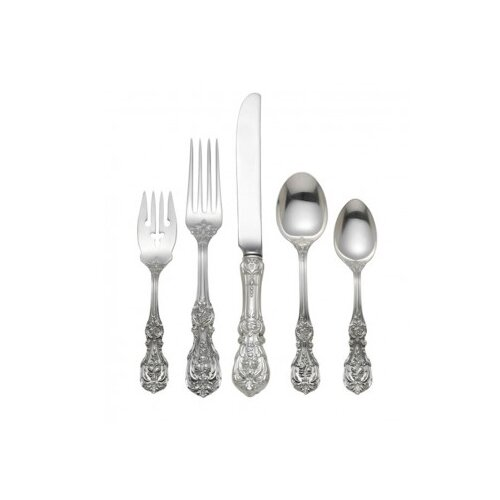 Reed & Barton Francis I 5 Piece Dinner Flatware Set