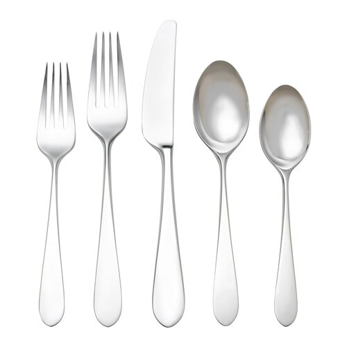 Reed & Barton Stainless Flatware 5 Piece Soho Place Setting