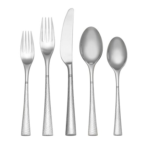 45 Piece Hollis Dinner Flatware Set