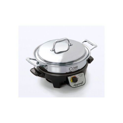 360 Cookware 4-Quart Gourmet Slow Cooker