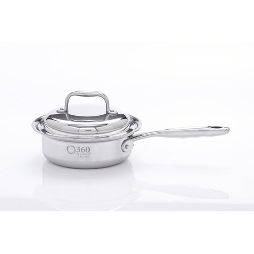 360 Cookware Saucepan with Lid