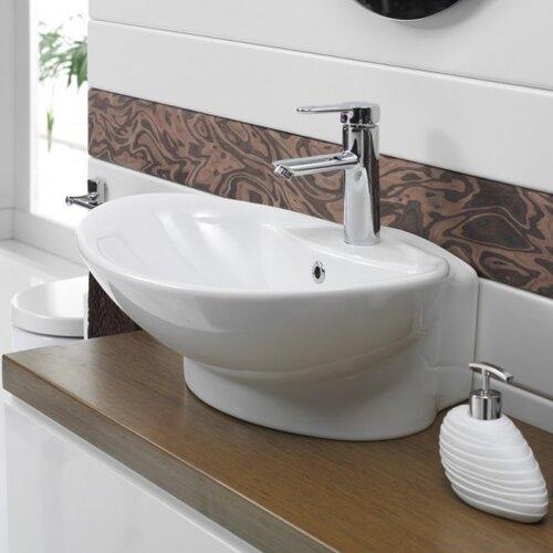 Rio Round Ceramic Bathroom Sink
