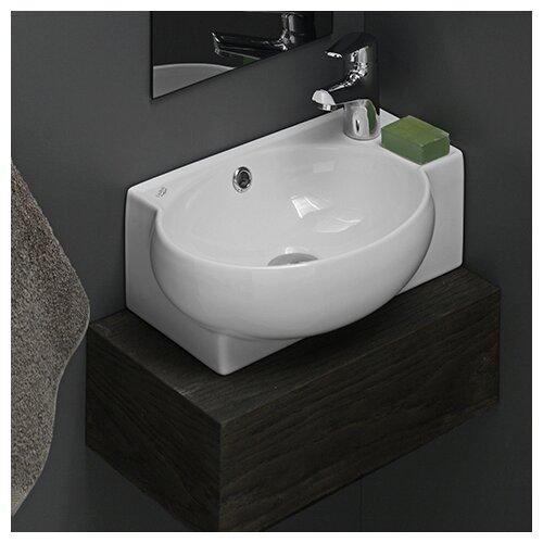 Corner Lavatory : ... by Nameeks Mini Corner Ceramic Bathroom Sink & Reviews Wayfair