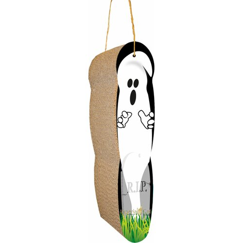 Imperial Cat Ghost Hanging Recycled Paper Scratching Board