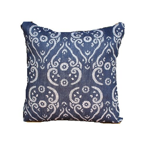 Jute Printed Accent Pillow