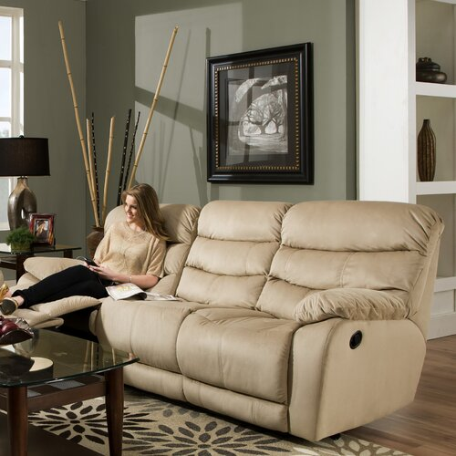 Maximus Lay Flat'' Reclining Sofa