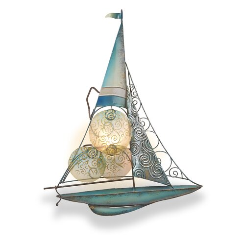 Safavieh tealight wall decor reviews wayfair - Sailboat tealight holders ...