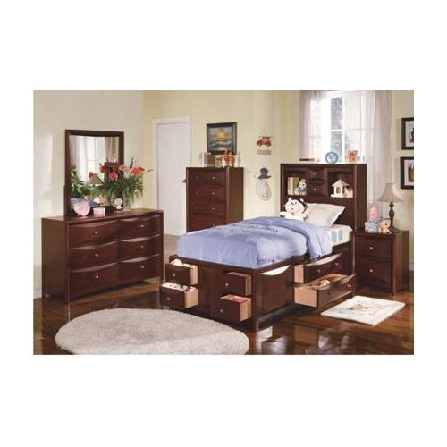 Wildon Home ® Manhattan Storage Bed in Espresso