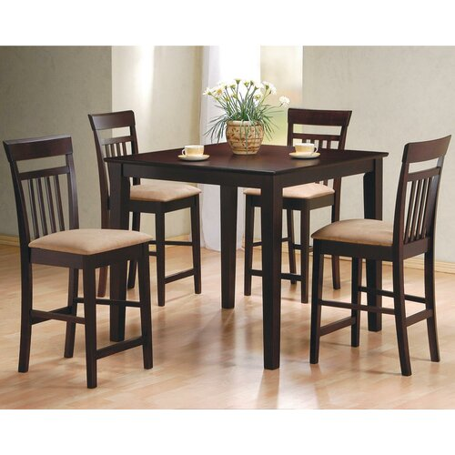 Wildon Home ® Derby 5 Piece Counter Height Dining Set