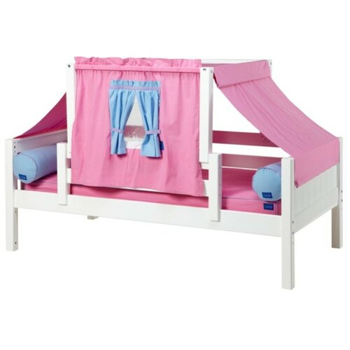 YO28 Panel Daybed with Back and Front Guard Rails and Top Tent