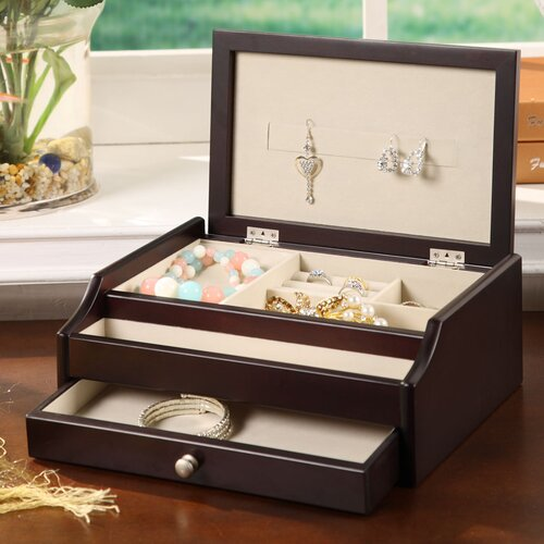 Wildon Home ® Bali 1 Drawer Jewelry Box