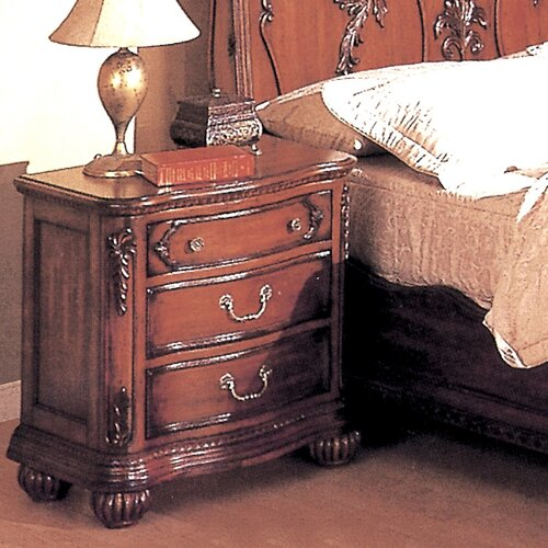 Wildon Home ® Richmond 3 Drawer Nightstand