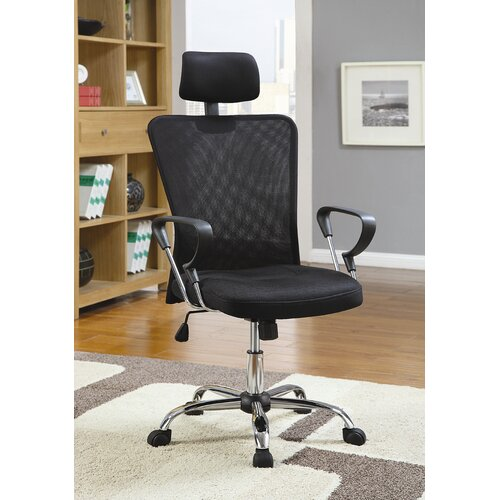 Wildon Home ® Rochester Air High-Back Mesh Executive Chair