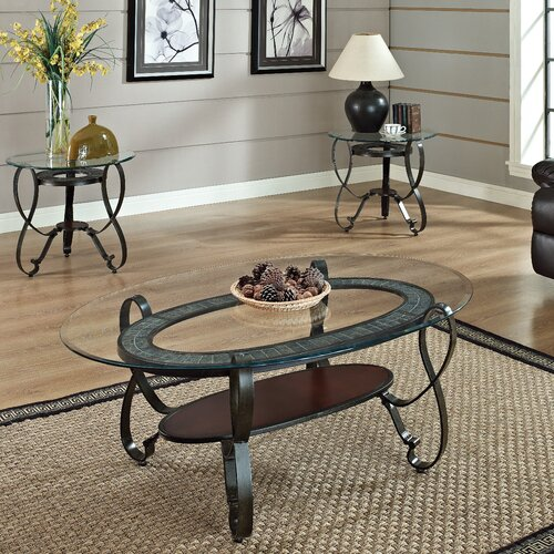 Wildon Home ® Ingo 3 Piece Coffee Table Set
