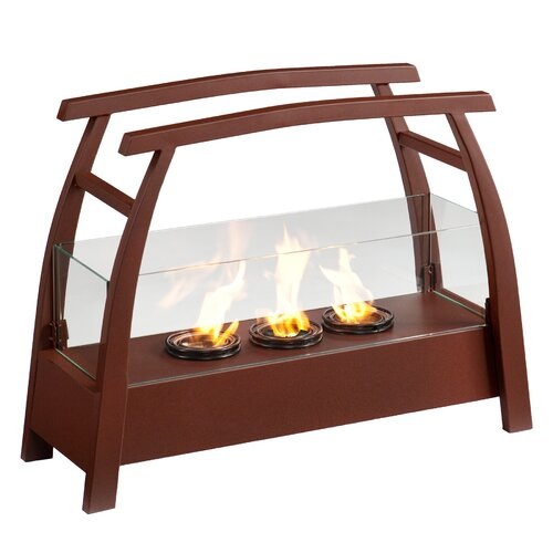 Wildon Home ® Drexel Free-Standing Gel Fuel Fireplace