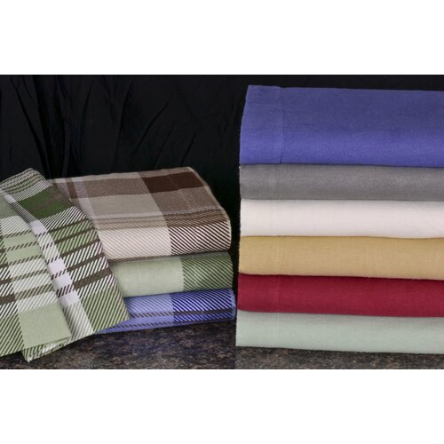 Wildon Home ® Winter Nights Cotton Flannel Sheet Set