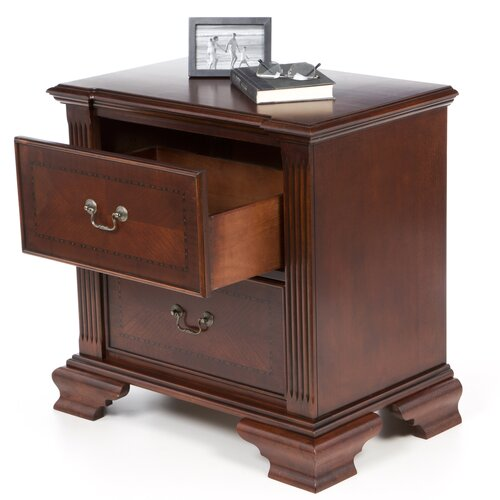 Wildon Home ® Audrey 2 Drawer Nightstand