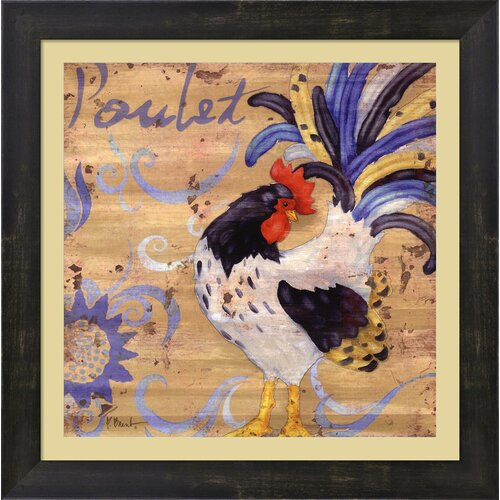 Royale Rooster IV by Paul Brent Framed Painting Print