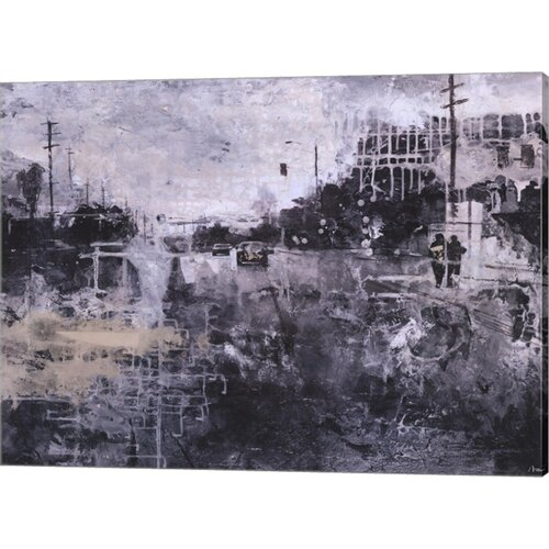 Symphony of the City II by Jorge Azri Painting Print on Canvas