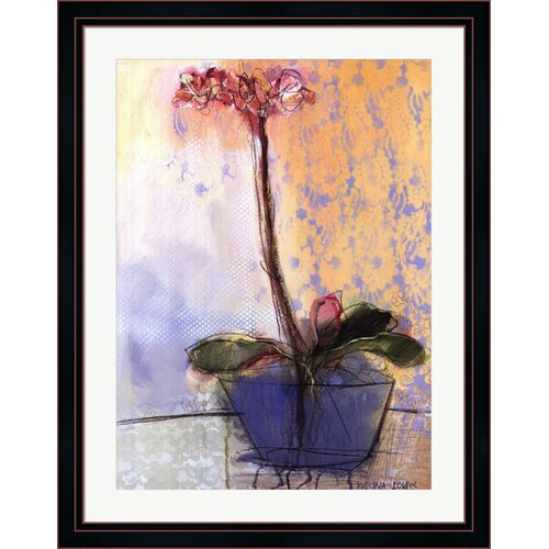 Orchid and Lace II by Marina Louw Framed Painting Print