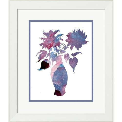 Modern Flower by Holly Mcgee Framed Graphic Art