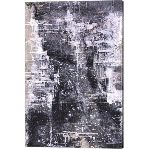 Symphony of the City IV by Jorge Azri Painting Print on Canvas