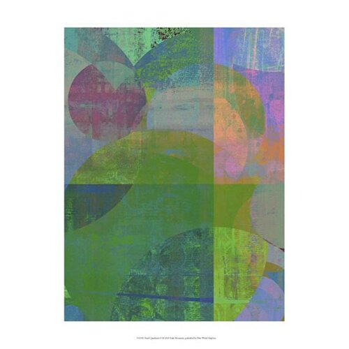 Pastel Quadrants II by Ricki Mountain Graphic Art