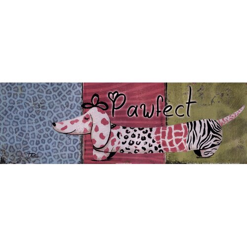 Evive Designs Pawfect by Patricia Pinto Painting Print