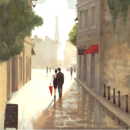 'Paris Romance I' by Marco Fabiano Painting Print