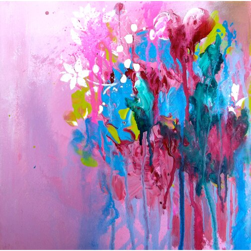 Color Me Pretty II by Lana Painting Print