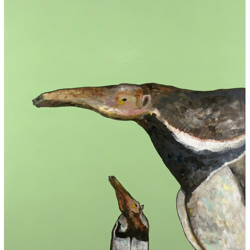 'Aardvark' by Eli Halpin Painting Print