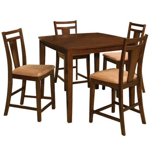 Brentwood 5 Piece Pub Table Set