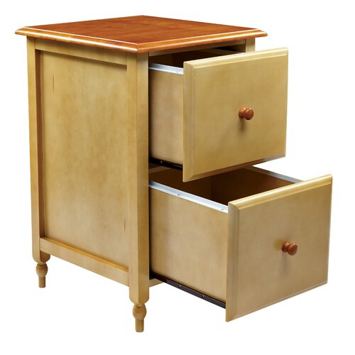 OSP Designs Country Cottage 2 Drawer File Cabinet